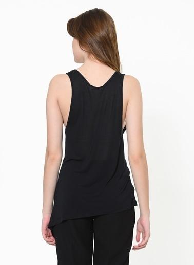 Stefanel Tişört Siyah